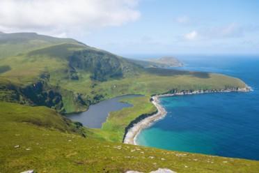 Giardini, scogliere e isola di Achill